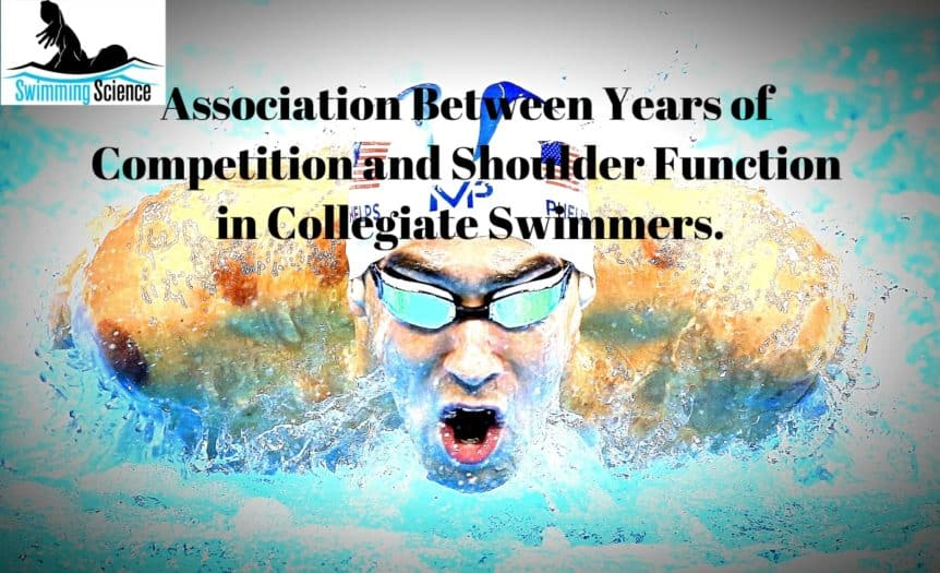 Optimized-Association Between Years of Competition and Shoulder Function in Collegiate Swimmers.