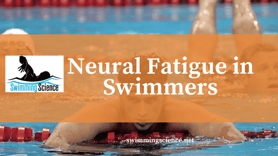 neural fatigue in swimmers