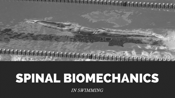 spinal biomechanics in swimming