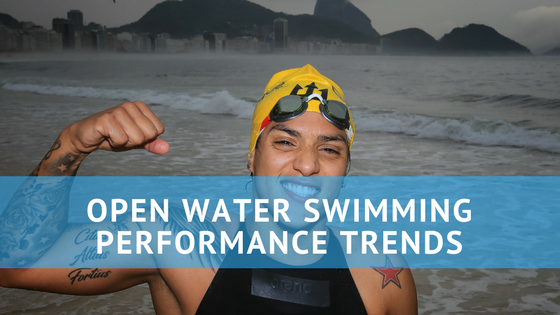 open water swimming performance trends