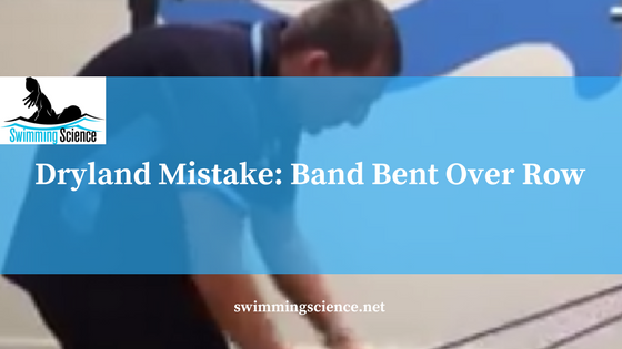 band bent over row