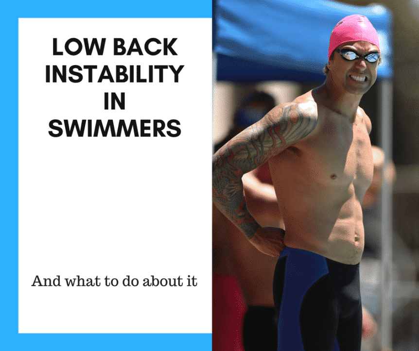 Low Back Instability in Swimmers