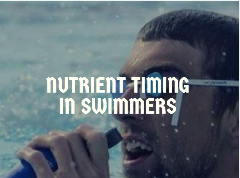 nutrient timing in swimming