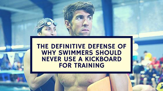 shoulder swimming kickboard