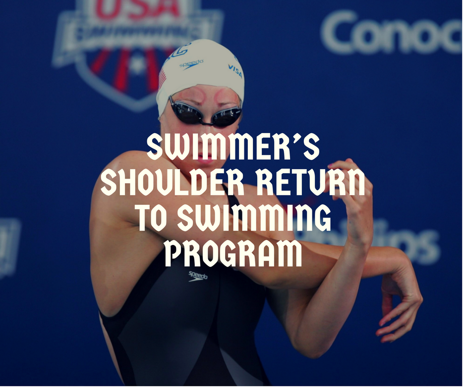 swimmer's shoulder guide