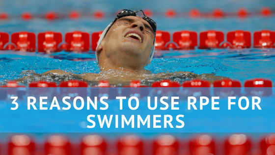 3 Reasons to Use RPE for Swimmers