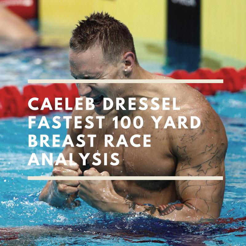 Caeleb Dressel Fastest 100 Yard Breast Race Analysis