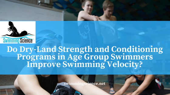 strength and conditioning in age group swimmers