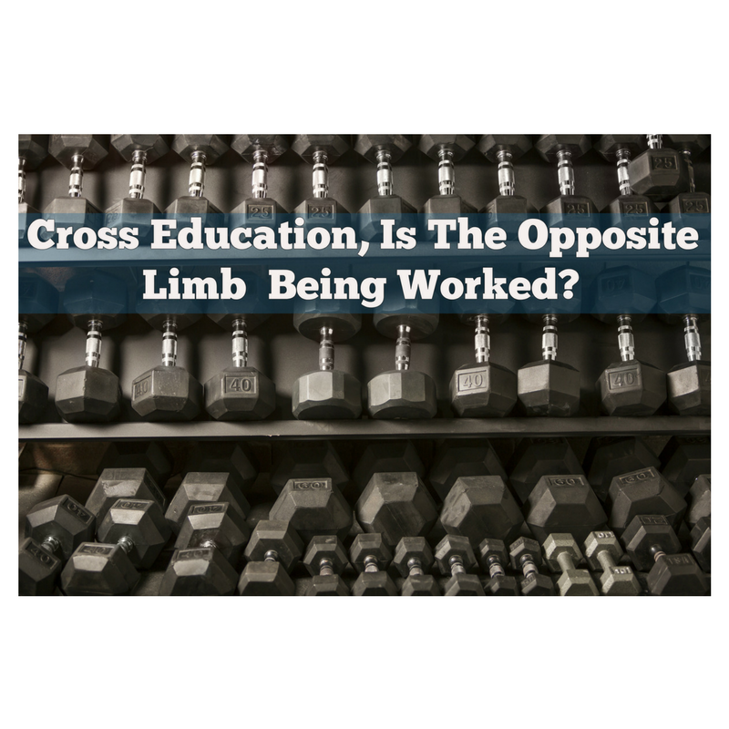 Cross Education, Is The Opposite Limb Being Worked?