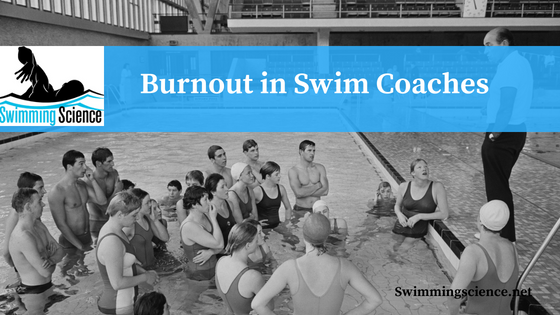 Burnout in Swim Coaches