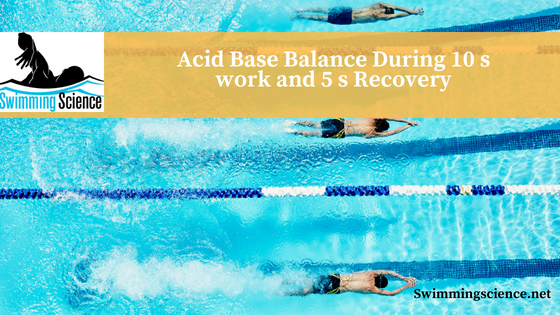 Acid Base Balance During 10 s work and 5 s Recovery