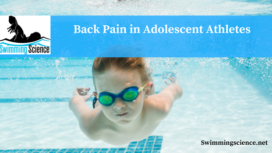 Back Pain in Adolescent Athletes