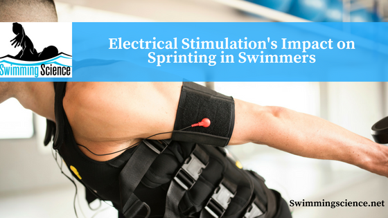 Electrical Stimulation's Impact on Sprinting in Swimmers