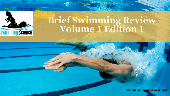 Brief Swimming Review Volume 1 Edition 1