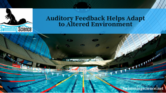 Auditory feedback helps adapt to altered environment
