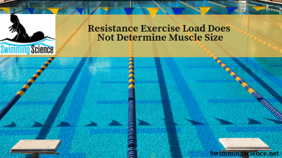 Resistance Exercise Load Does Not Determine Muscle Size