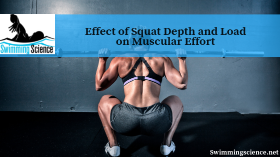 Effect of Squat Depth and Load on Muscular Effort