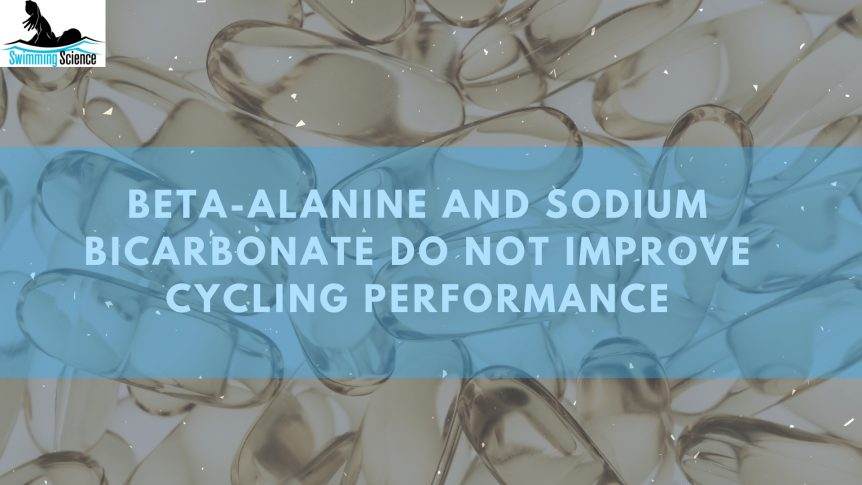 Beta-Alanine and Sodium Bicarbonate do Not Improve Cycling Performance