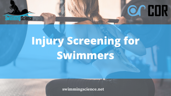 injury screening for swimmers