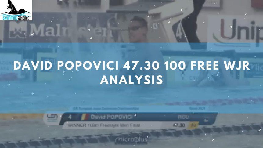 David Popovici 47.30 100 Free WJR Analysis
